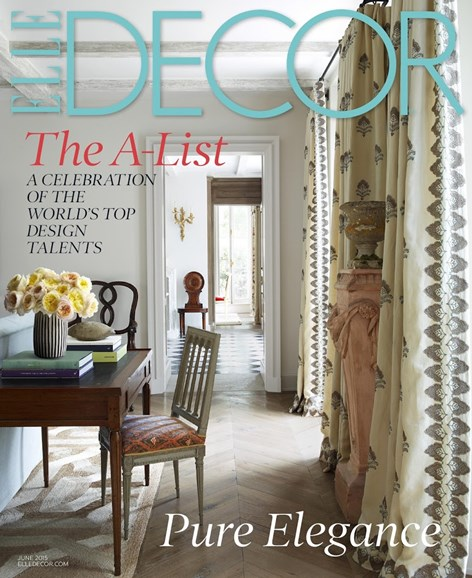 ELLE DECOR Cover - 6/1/2015