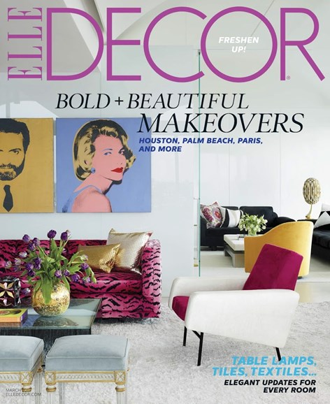 ELLE DECOR Cover - 3/1/2015