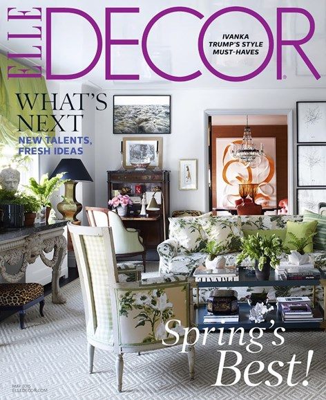 ELLE DECOR Cover - 5/1/2015