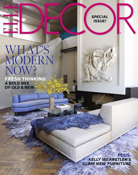 ELLE DECOR Cover - 9/1/2015