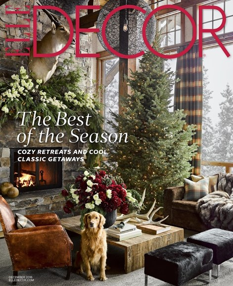 ELLE DECOR Cover - 12/1/2016