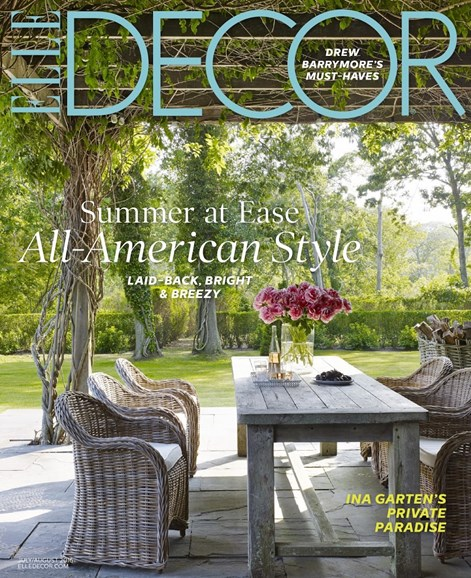 ELLE DECOR Cover - 7/1/2016