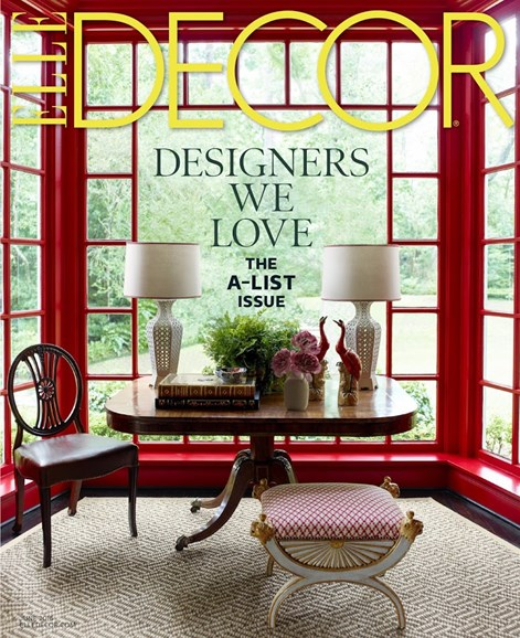ELLE DECOR Cover - 6/1/2016