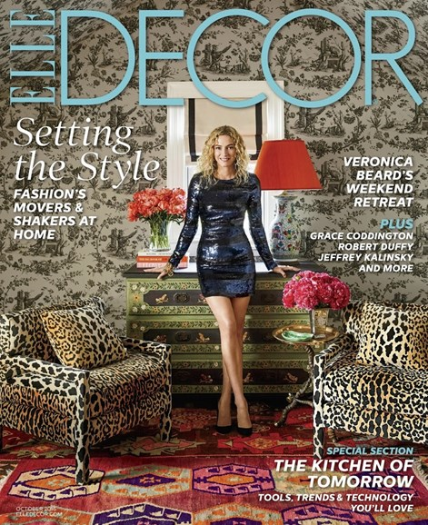 ELLE DECOR Cover - 10/1/2016