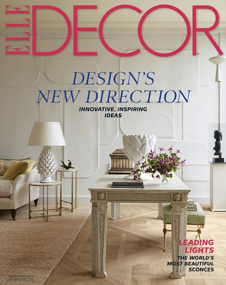 ELLE DECOR Cover - 9/1/2016