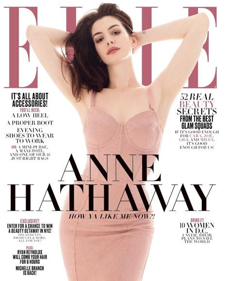 ELLE Cover - 4/1/2017