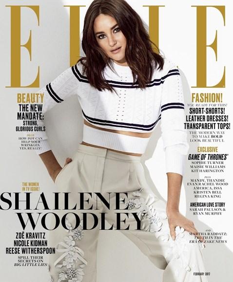 ELLE Cover - 2/1/2017