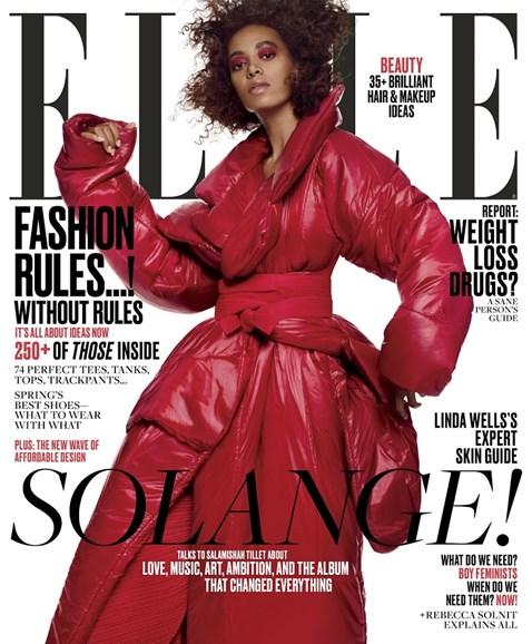 ELLE Cover - 3/1/2017