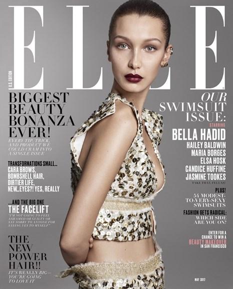 ELLE Cover - 5/1/2017