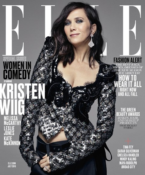 ELLE Cover - 7/1/2016
