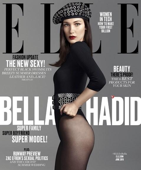 ELLE Cover - 6/1/2016