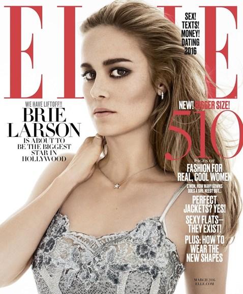 ELLE Cover - 3/1/2016