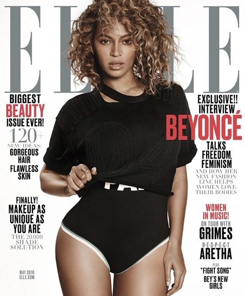 ELLE Cover - 5/1/2016