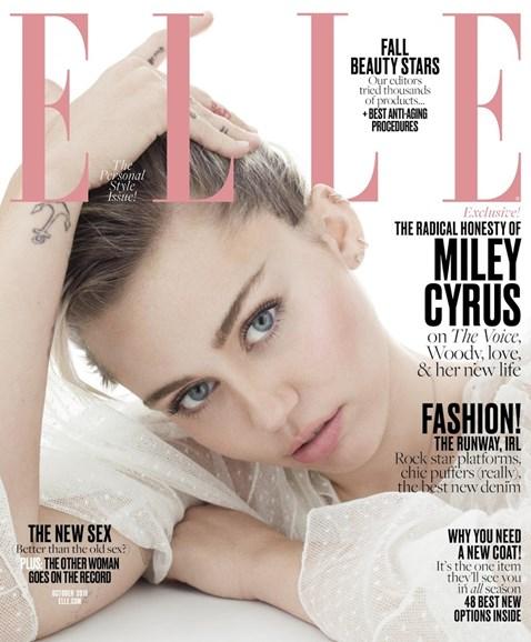 ELLE Cover - 10/1/2016