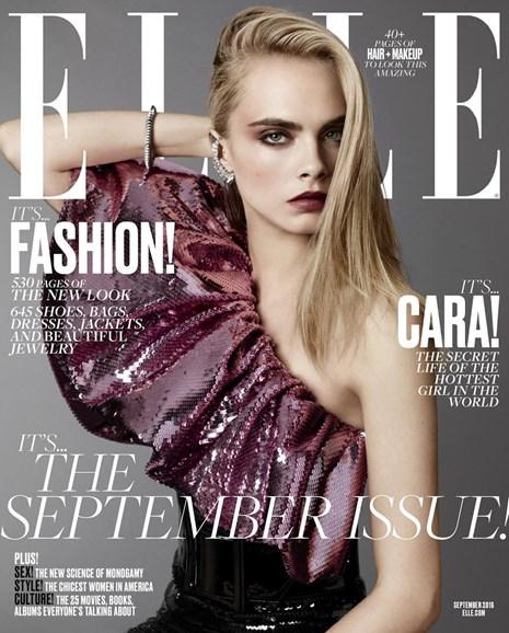 ELLE Cover - 9/1/2016