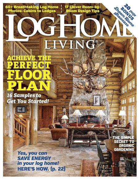 Log Home Living Cover - 1/1/2017