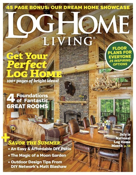 Log and Timber Home Living Cover - 6/1/2017