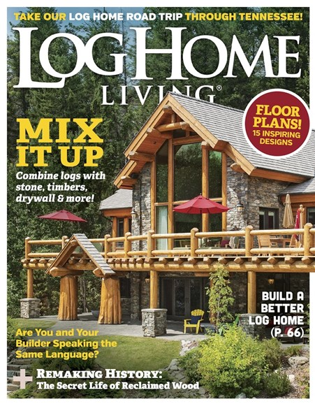 Log Home Living Cover - 3/1/2017