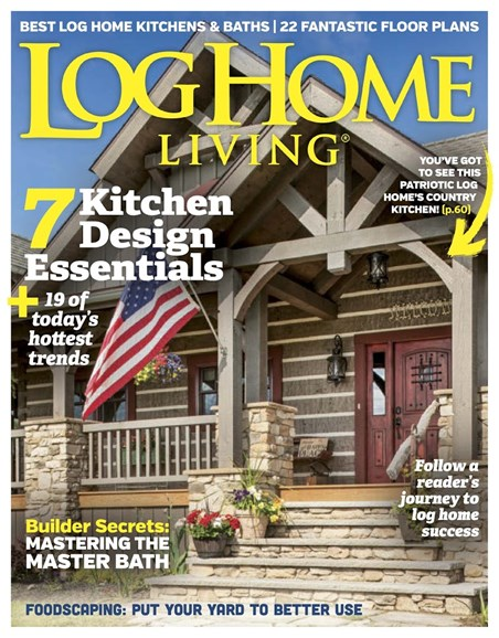 Log Home Living Cover - 5/1/2017