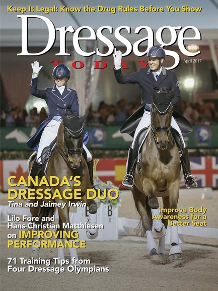 Dressage Today Cover - 4/1/2017