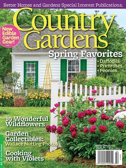 Country Gardens Cover - 4/1/2014