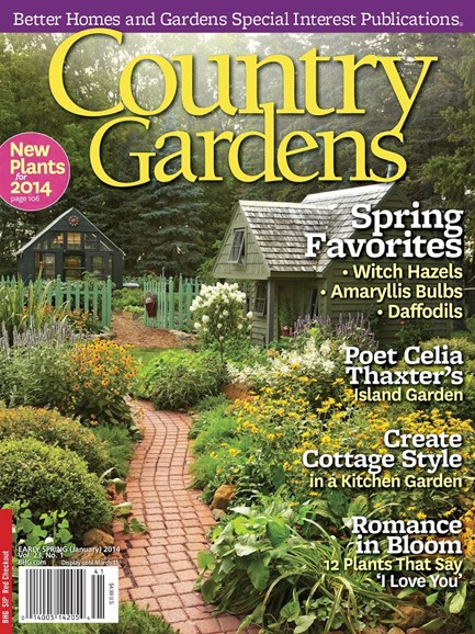 Country Gardens Cover - 1/1/2014