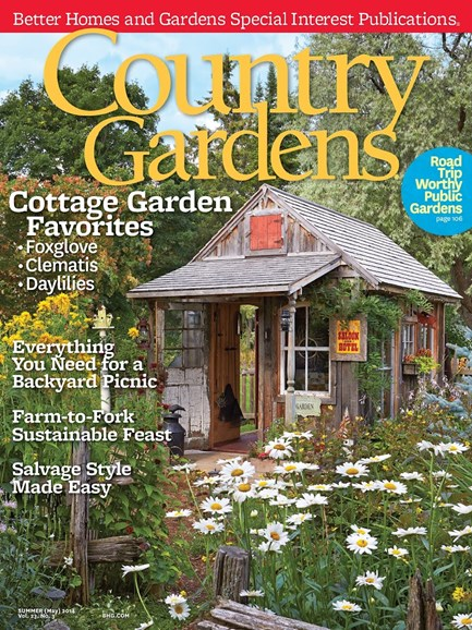 Country Gardens Cover - 7/1/2014