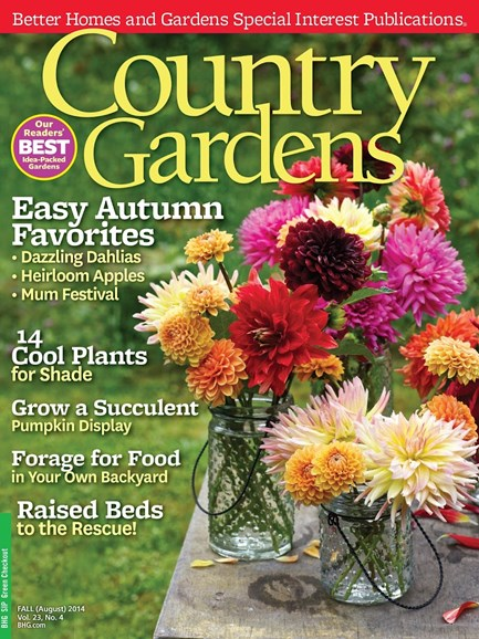 Country Gardens Cover - 10/1/2014