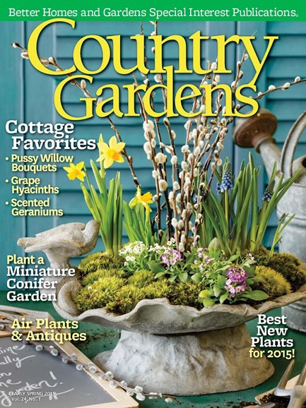 Country Gardens Cover - 1/1/2015