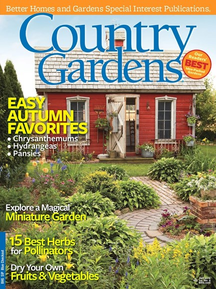 Country Gardens Cover - 10/1/2015