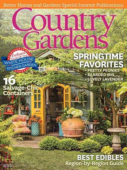 Country Gardens Cover - 4/1/2016