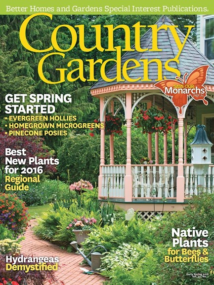 Country Gardens Cover - 1/1/2016