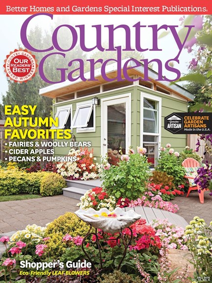 Country Gardens Cover - 10/1/2016