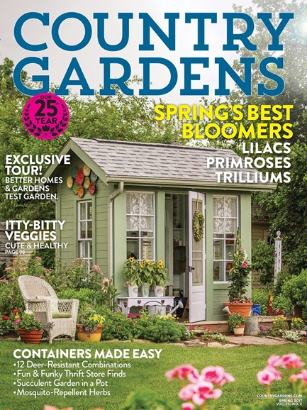 Country Gardens Cover - 4/1/2017