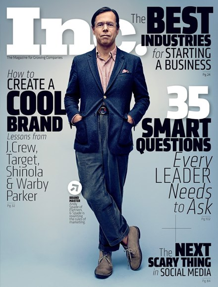 Inc. Magazine Cover - 4/1/2014