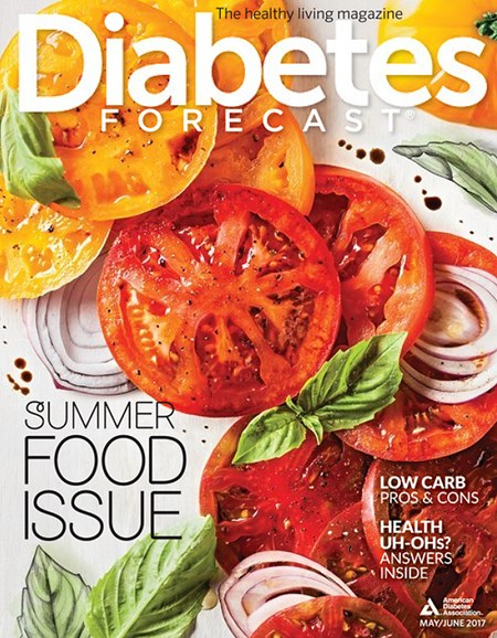 Diabetes Forecast Cover - 5/1/2017