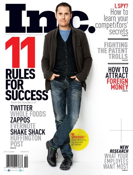 Inc. Magazine Cover - 2/1/2013