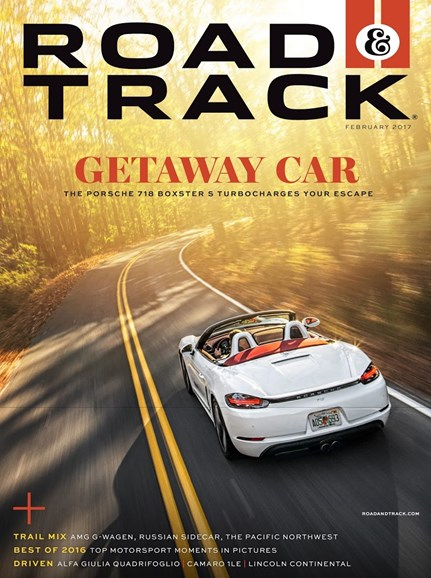 Road & Track Cover - 2/1/2017