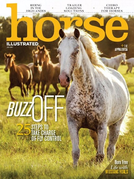 Horse Illustrated Cover - 7/1/2017