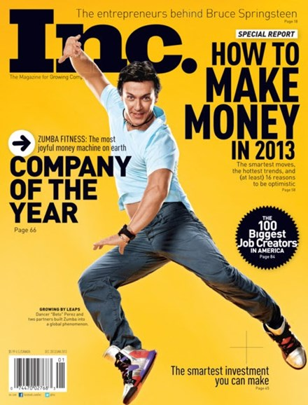 Inc. Magazine Cover - 12/1/2012