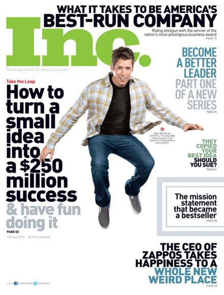 Inc. Magazine Cover - 2/1/2012