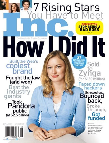 Inc. Magazine Cover - 7/1/2012