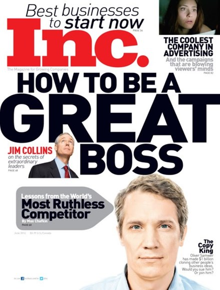 Inc. Magazine Cover - 6/1/2012