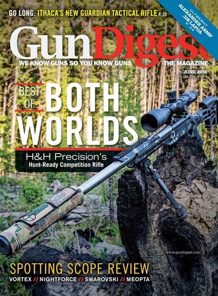 Gun Digest Cover - 6/1/2016
