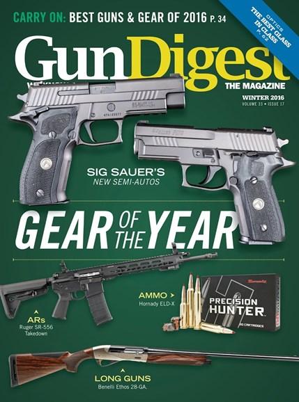 Gun Digest Cover - 12/1/2016
