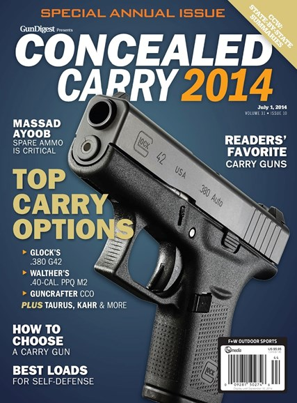 Gun Digest Cover - 7/1/2014