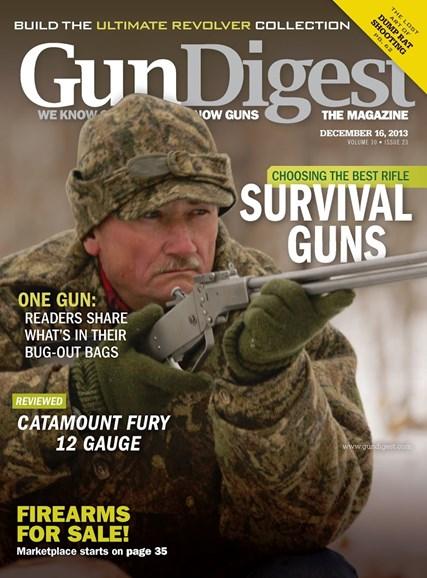 Gun Digest Cover - 12/16/2013