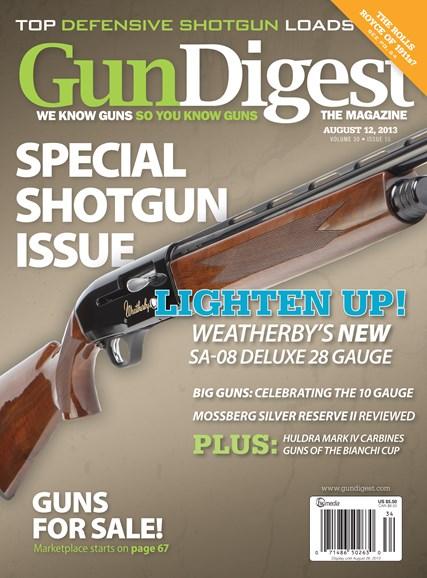 Gun Digest Cover - 8/12/2013