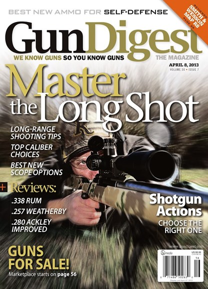 Gun Digest Cover - 4/8/2013