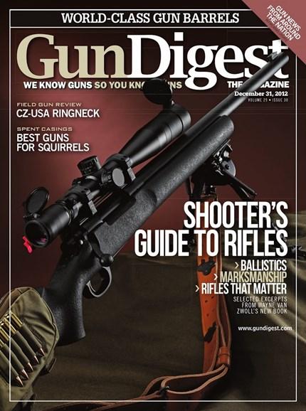 Gun Digest Cover - 12/31/2012